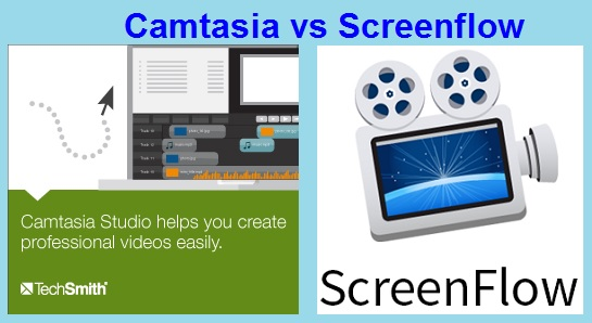 Camtasia vs Screenflow